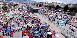 Estos son los cierres viales y desvíos por movilizaciones en Bogotá