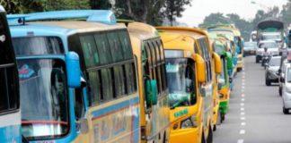 Este jueves habrá paro de buses en Bucaramanga