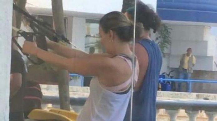 Vecinos critican a Carlos Vives por hacer ejercicio en área común tras haber llegado de México